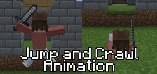 Textures: Jump Animation And Crawl Animation